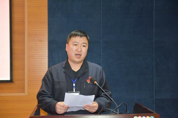一公司中直机关工程项目部副经理芮朝庆讲话.JPG
